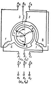электрическая схема генератора постоянного тока