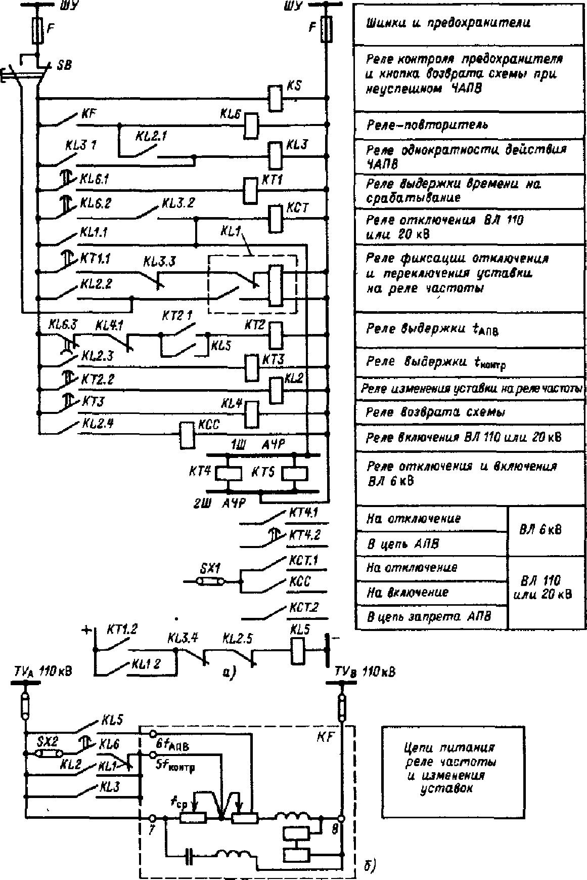 схема подключения реле рч-1