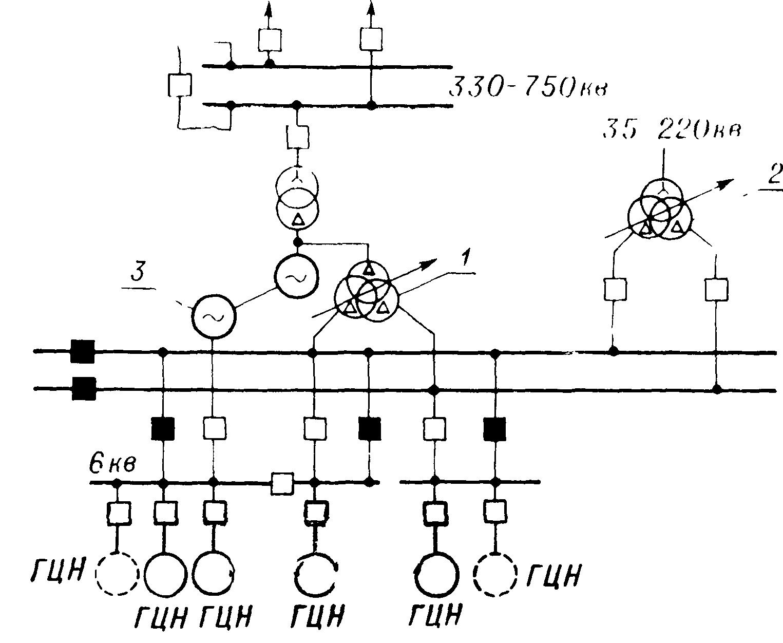 схема включения трансформатора