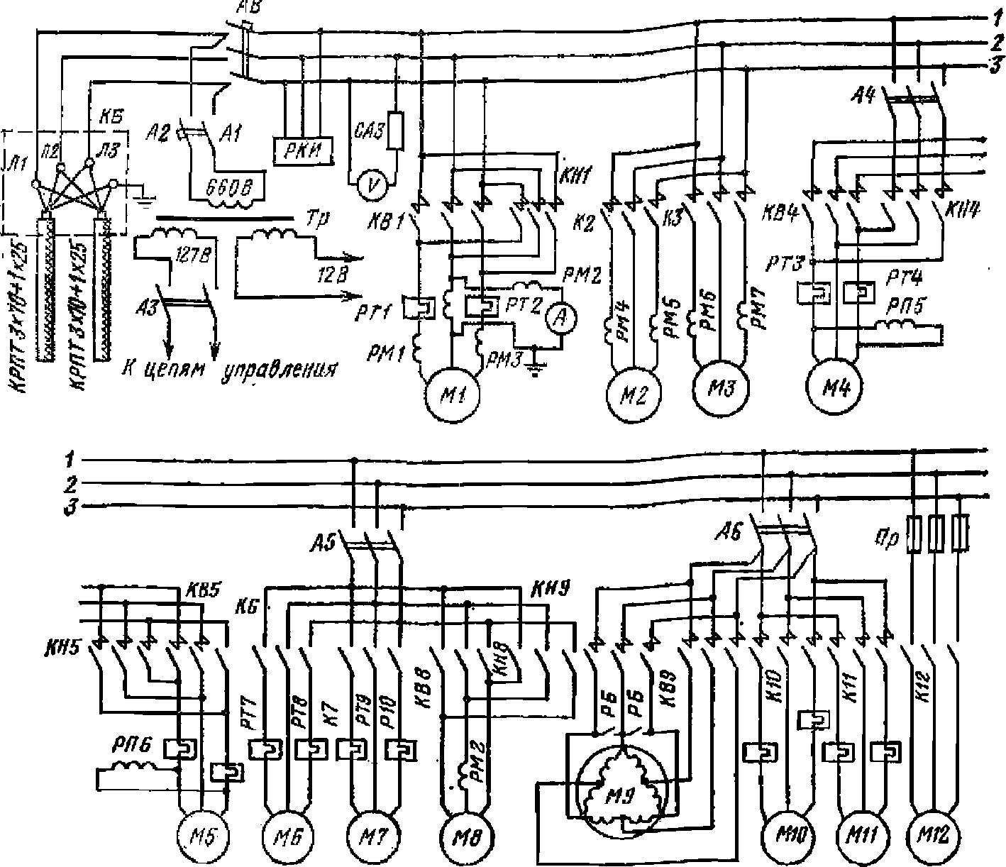 Схемы на сбш-250