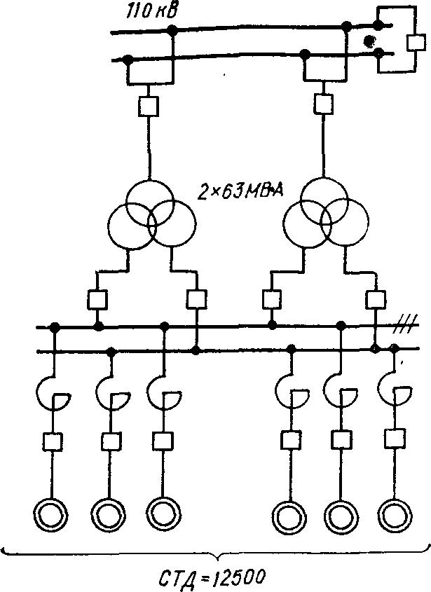 Схема ПГВ с параллельной