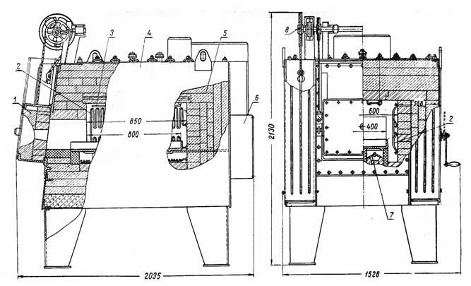 схема электрический печей