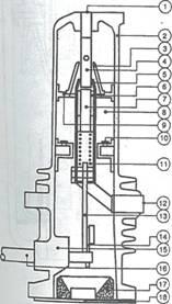 Автокомпрессионный элегазовый выключатель