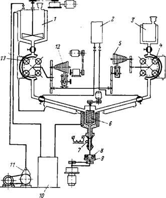 Схема электрическая конвейер
