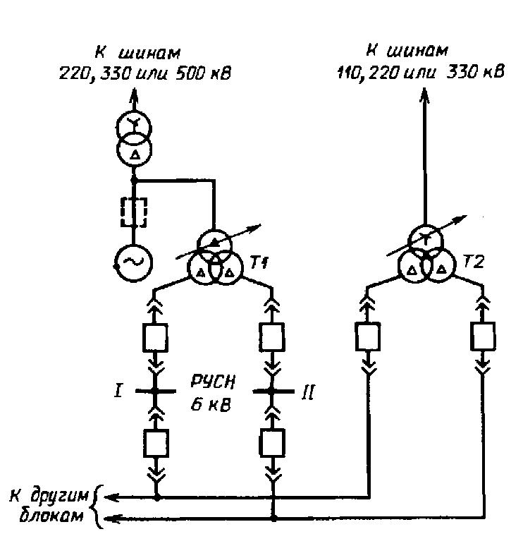 повышающего трансформатора