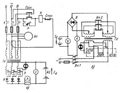 выпрямитель вса 5к схема принципиальная электрическая