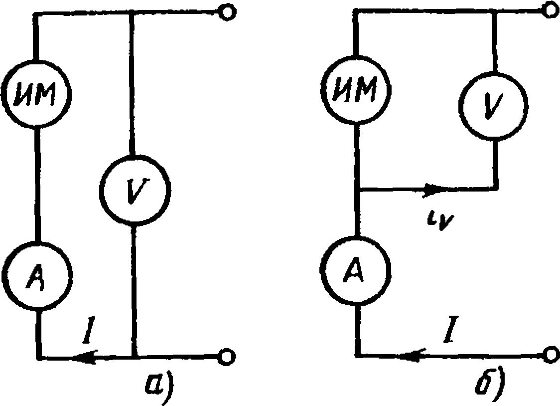схема включения ваттметра