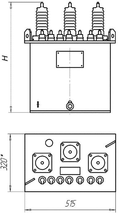 размеры трансформатора НАМИ-10. «