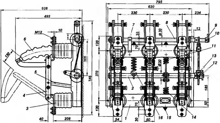 Выключатель нагрузки типа ВН-11