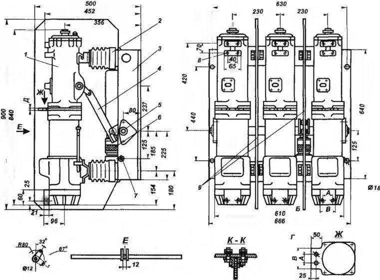Выключатель ВМП-10.