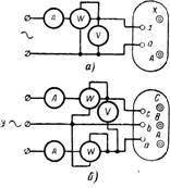 схемы измерения потерь холостого хода трансформаторов