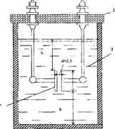 Схема установки для определения пробивного напряжения масла